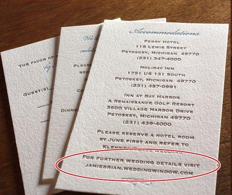 Wedding Invitation Wording Money Tree
