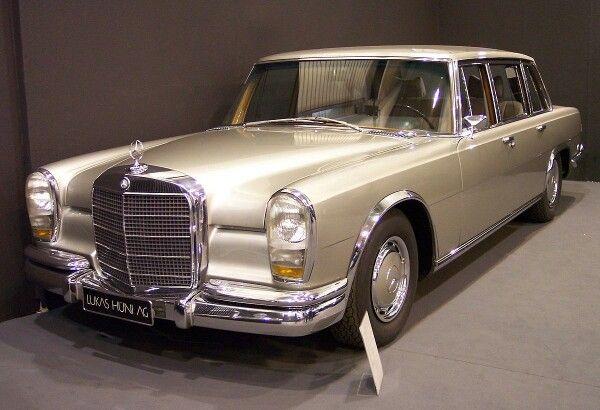 1972 Mercedes Benz 600 2017 Value $600,000 MSRP $32,000
