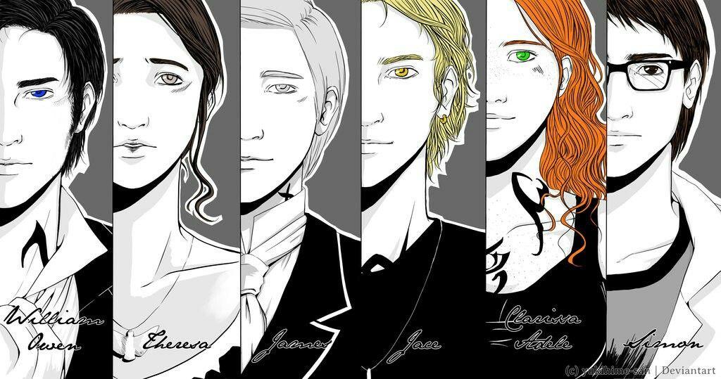 Shadowhunter Characters