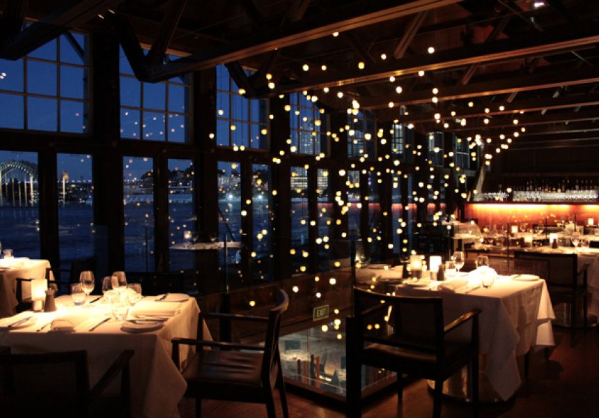 Pyrmont restaurants wedding venues