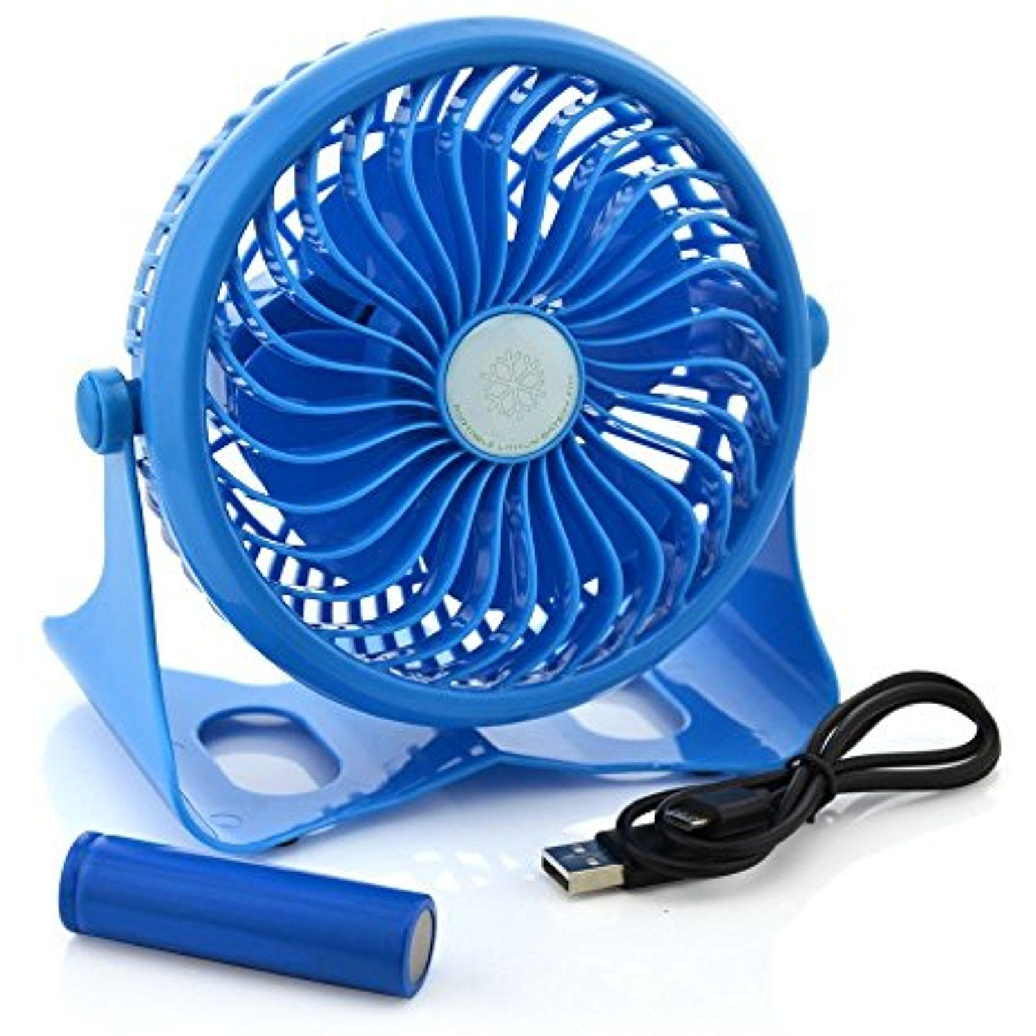 Momoday 360 Degree Adjustable Wireless Rechargeable Desk Fan Mini Kipas Fortable Portable Electric Personal Table Fans Stepless Wind Speed Adjustment With 18650