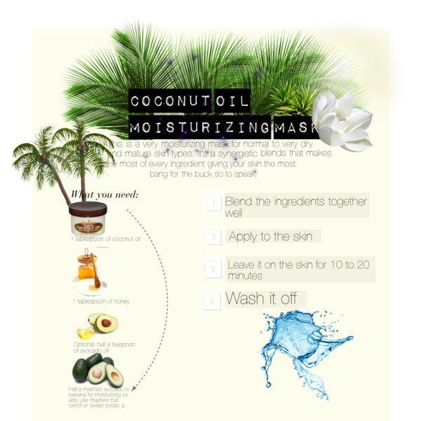 Coconut oil moisturizing mask