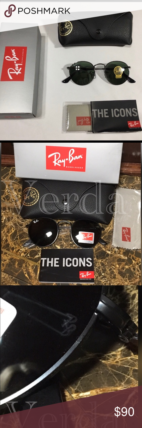 68b3be804971a Ray Ban sunglasses RB3447 Ray Ban sunglasses PRICE REDUCED FOR BLACK FRIDAY!!  Price is