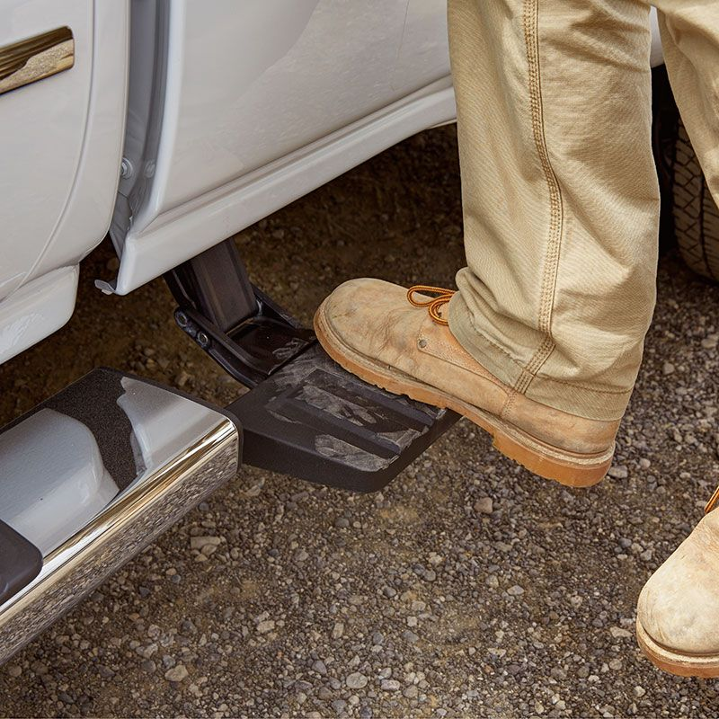 """2016 Silverado 2500 Bed Step, 6'6"""" and 8"""" Beds Get easy"""