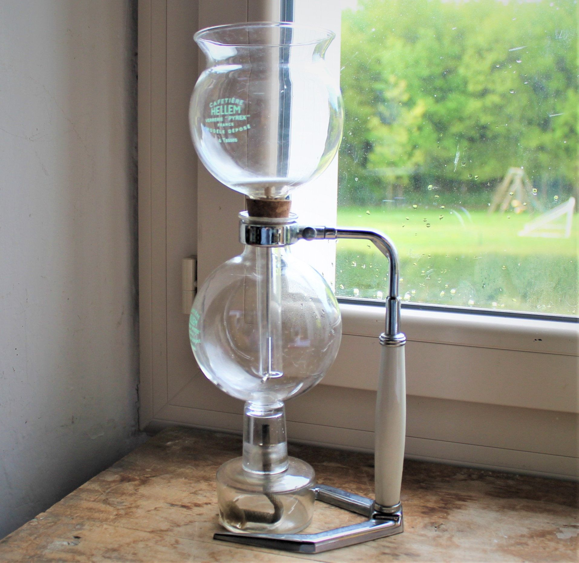 Vintage 1970 S French Cafetiere Vacuum Coffee Maker Coffee Siphon Helem Antique Glass Siphon Coffee Brewer Pyrex Vacuum Coffee Maker Vacuum Coffee Siphon Coffee