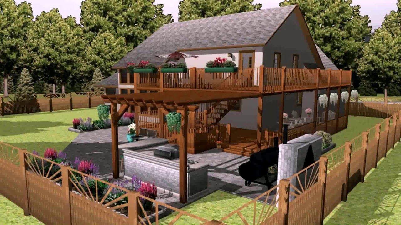 3d Landscape Design Software Free Download Full Version Youtube Free Landscape Design Software Landscape Design Software Deck Design Software