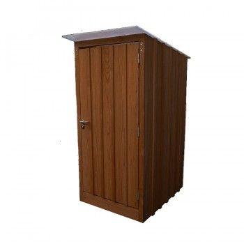Toilette Seche Exterieure Bois Massif Douglas Peint  Toilettes