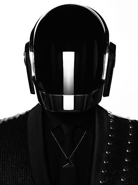 Black is back! | Daft punk, Punk, Saint laurent paris