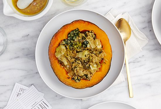 Quinoa Stuffed Kabocha | goop.com