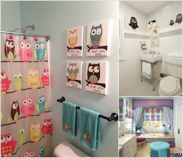 10 Cute Ideas For A Kids Bathroom Kid Bathroom Decor Bathroom