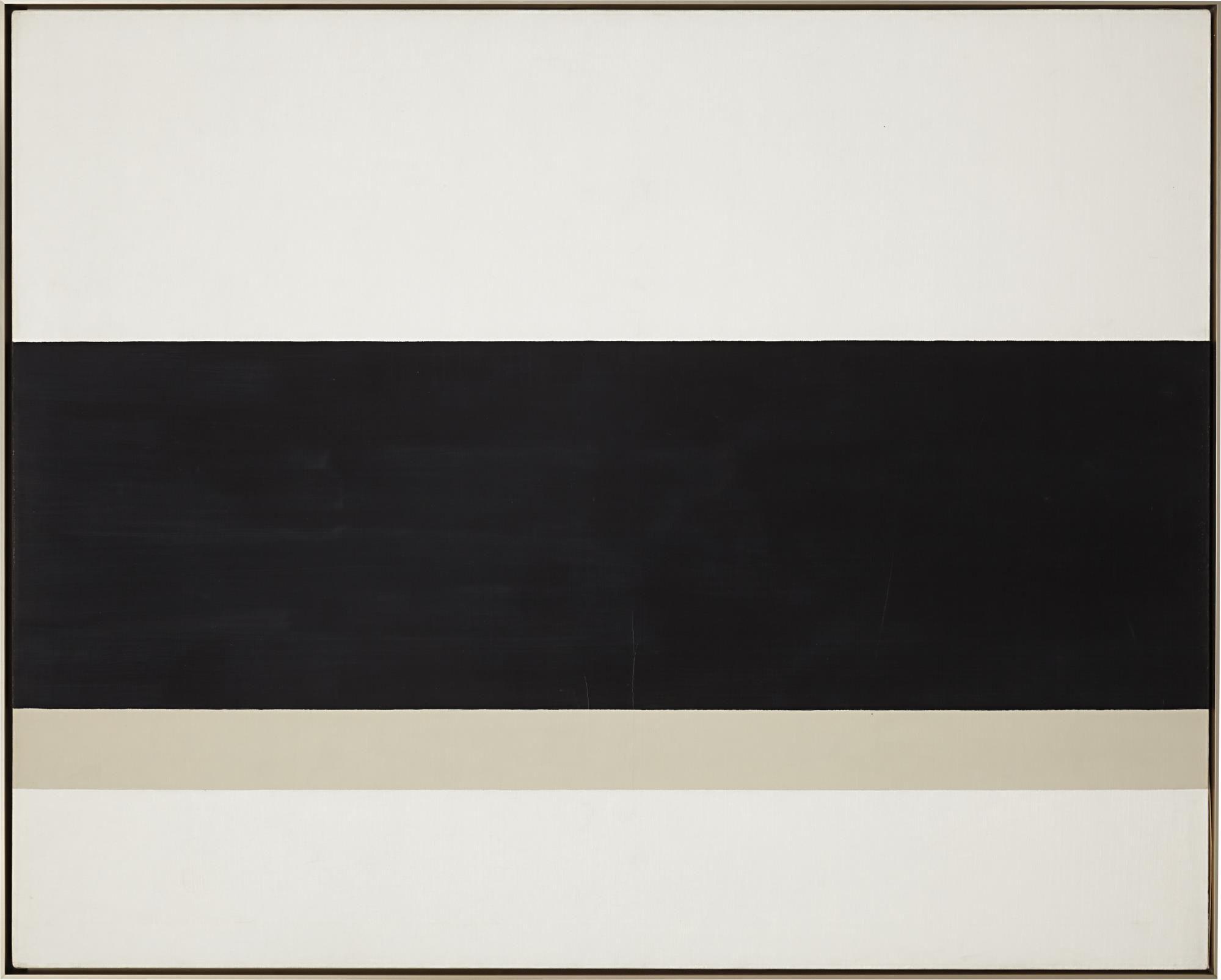 John Mclaughlin 1 1970 Oil On Canvas 48 X 60 In 121 9 X 152 4 Cm