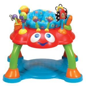 Makes it so you can have your hands free and not fret about where those little crawlers have scampered off to, ideally though it's adjustable so that they can still grow and enjoy it for longer than a couple months. $65