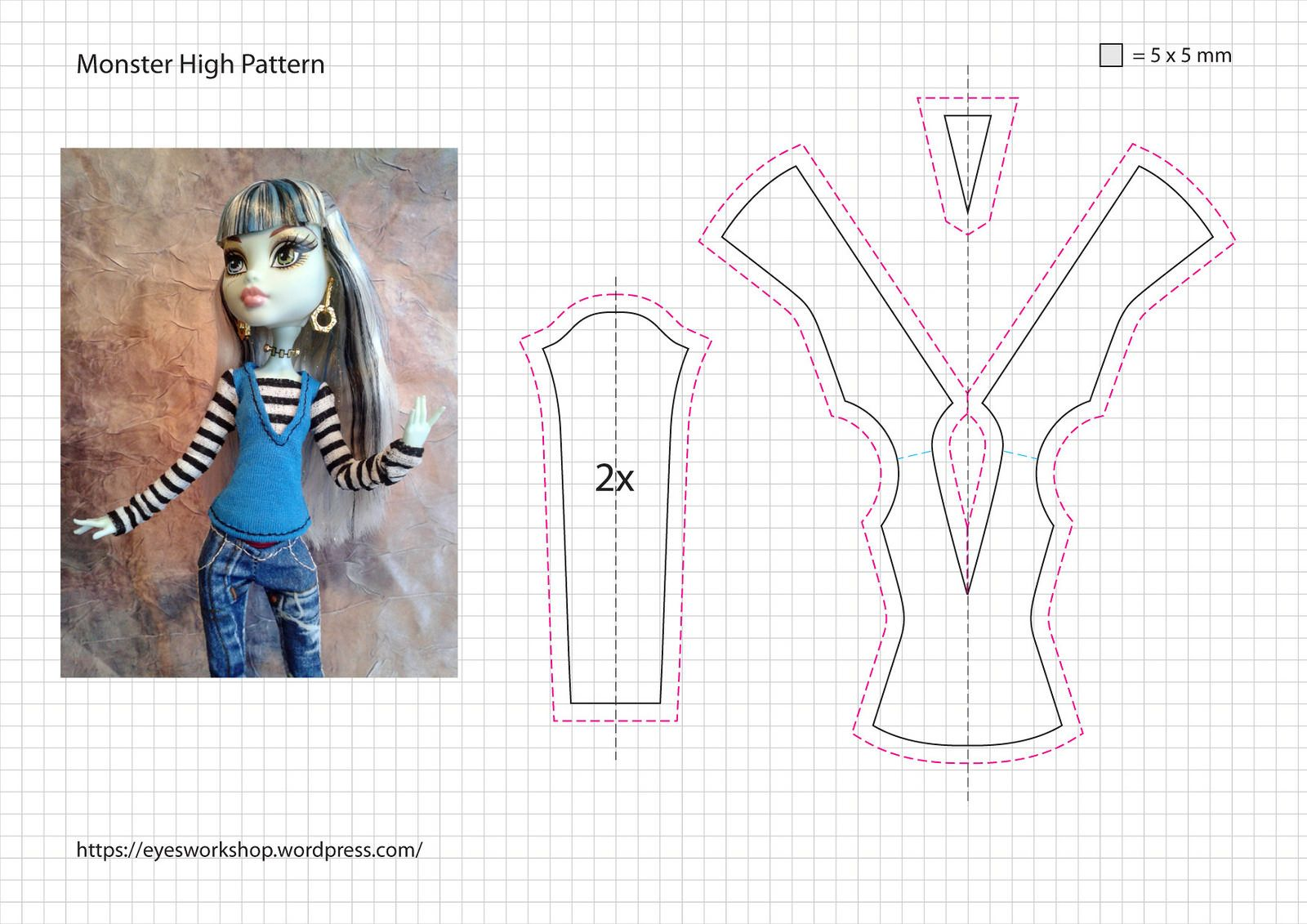 Eye's tailor shop - More Monster High Fashion