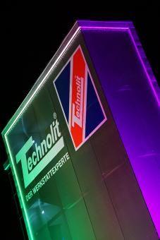 Illuminated Mesh Facades. Illuminated Architectural Mesh provides a ...
