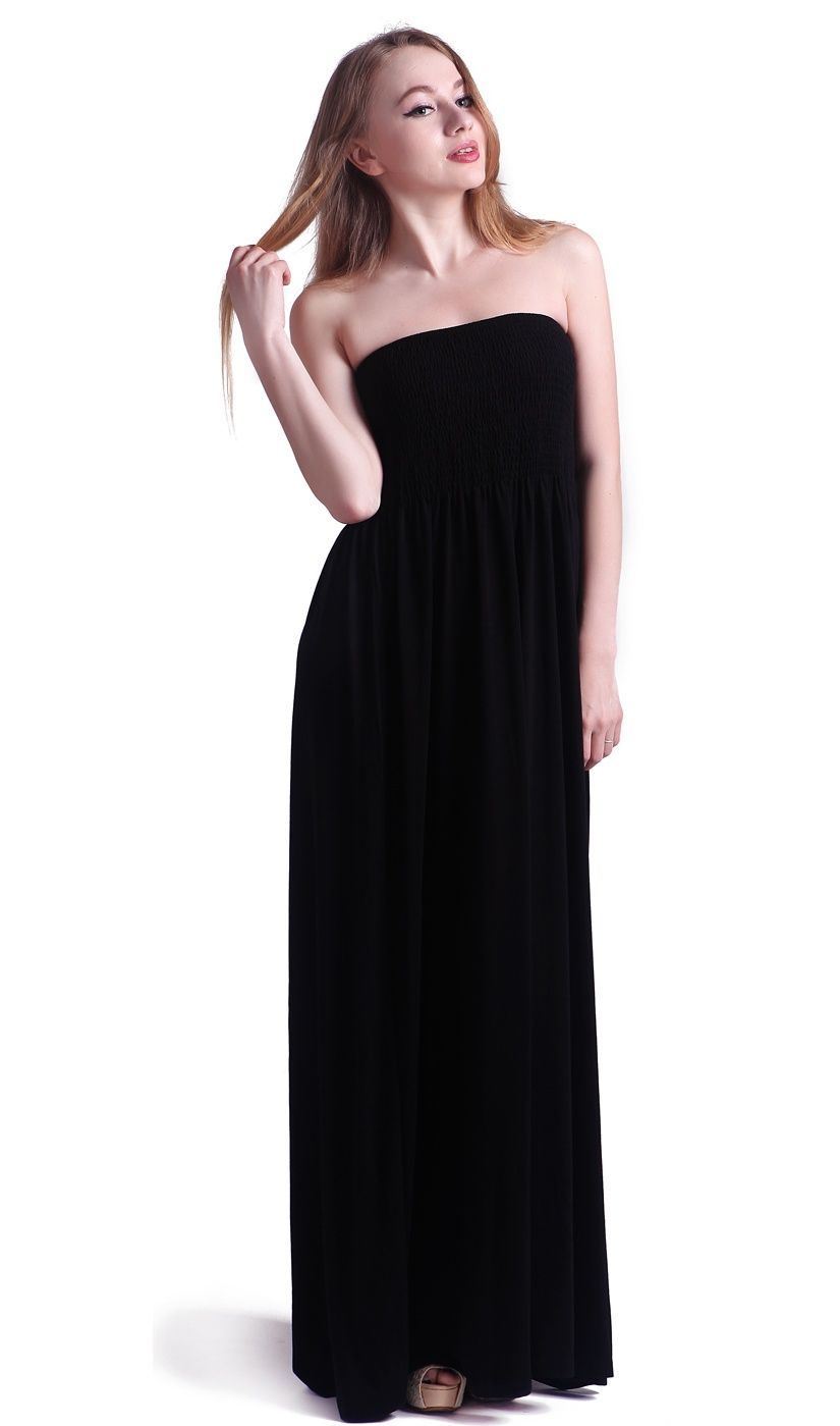 243a8293c5db1 HDE Women's Strapless Maxi Dress Tube Top Long Skirt Sundress Cover  Up#Maxi, #Dress, #Strapless