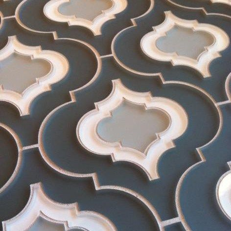 moroccan shaped tile kitchann style tile trends