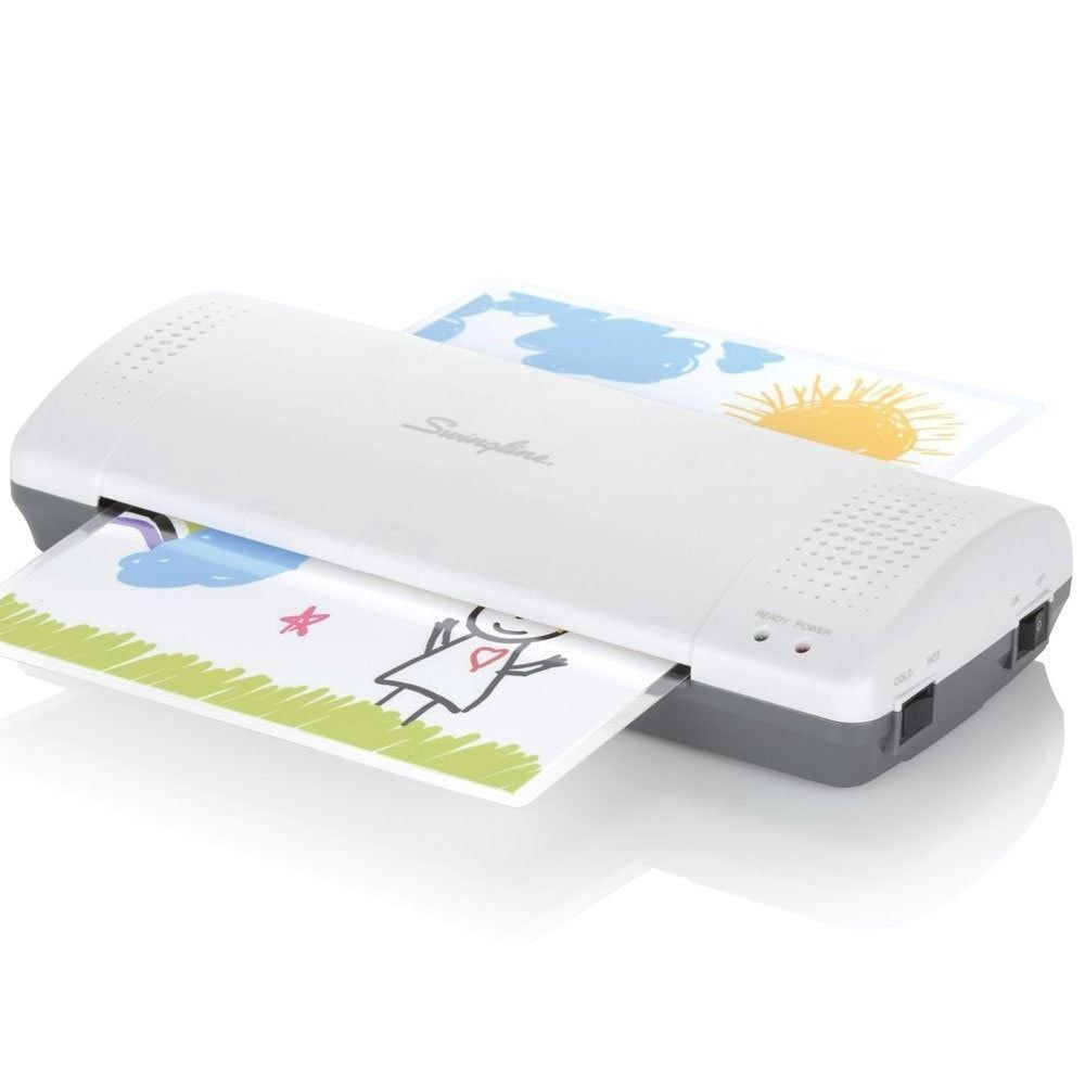 Swingline Laminator Thermal Inspire Plus Lamination Machine 9 Max Width Quick Warm Up Includes Laminating Pouches W Laminators Laminated Machine Thermal