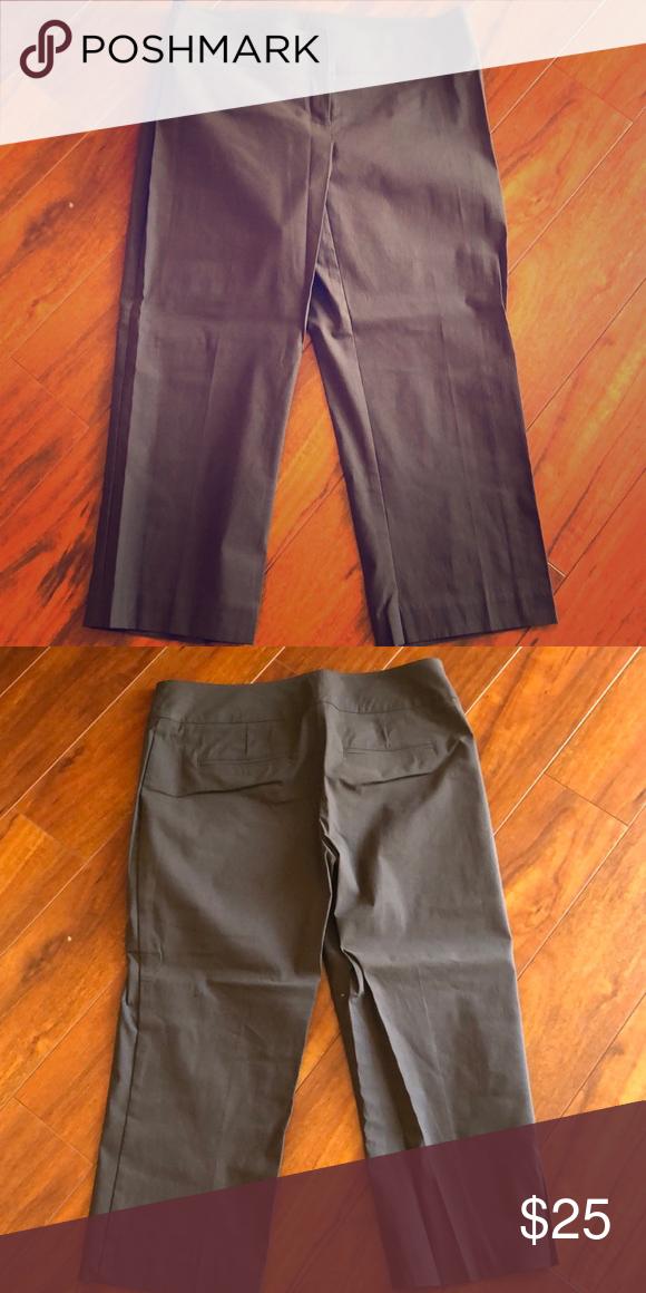 9a59183cd7992 NWOT Bisou Bisou Capri 71% Cotton 25% Nylon and 4% Spandex Bisou Bisou  Pants Ankle & Cropped