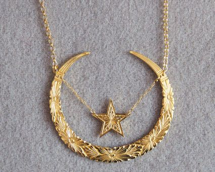 large gold freshwater default necklace presta personalised index and celestial pearl