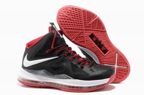 Nike Lebron 10 White Black Red   Nike