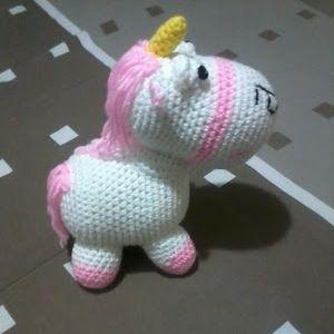 Free Crochet Unicorn Pattern | Amigurumi patrones gratis ... | 300x300