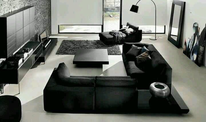 Luxurious Leather Livingroom1