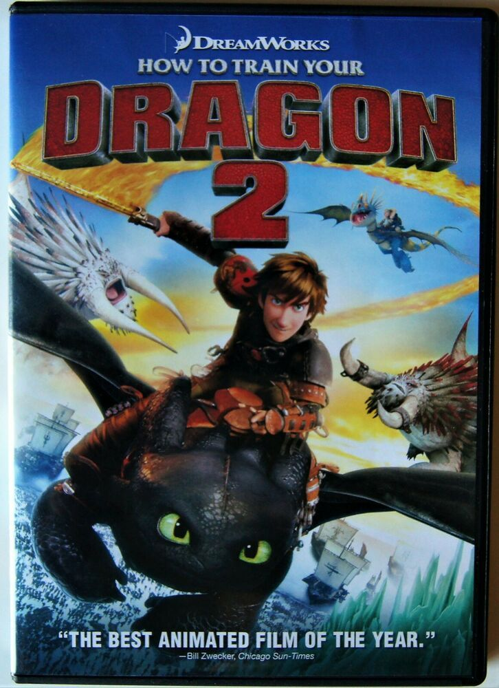 Details about how to train your dragon 2 dvd 2010 2