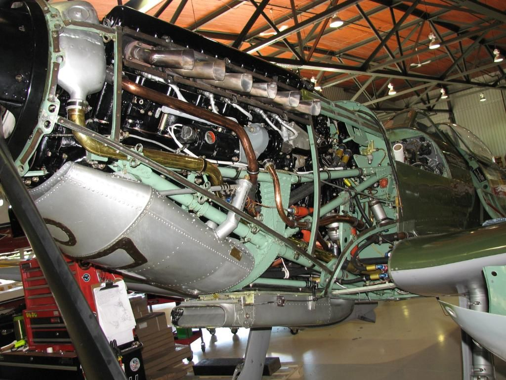 The Rolls Royce Merlin Fitted in the Supermarine Spitfire ...