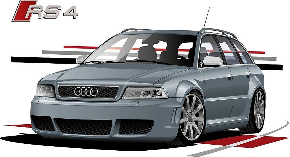 Audi Rs4 B5 Grey By Grigorii4617 Audi Audi Rs4 Europe Car