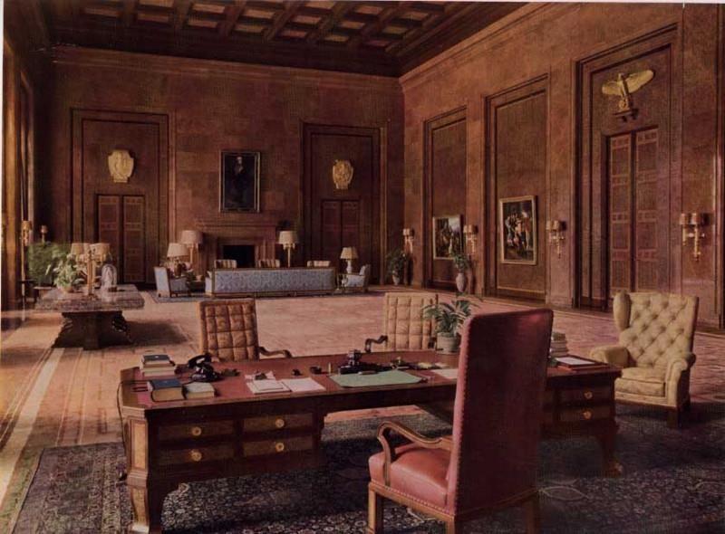 Hitler'in çalışma ofisi (German Reichskanzlei) hitler`s office