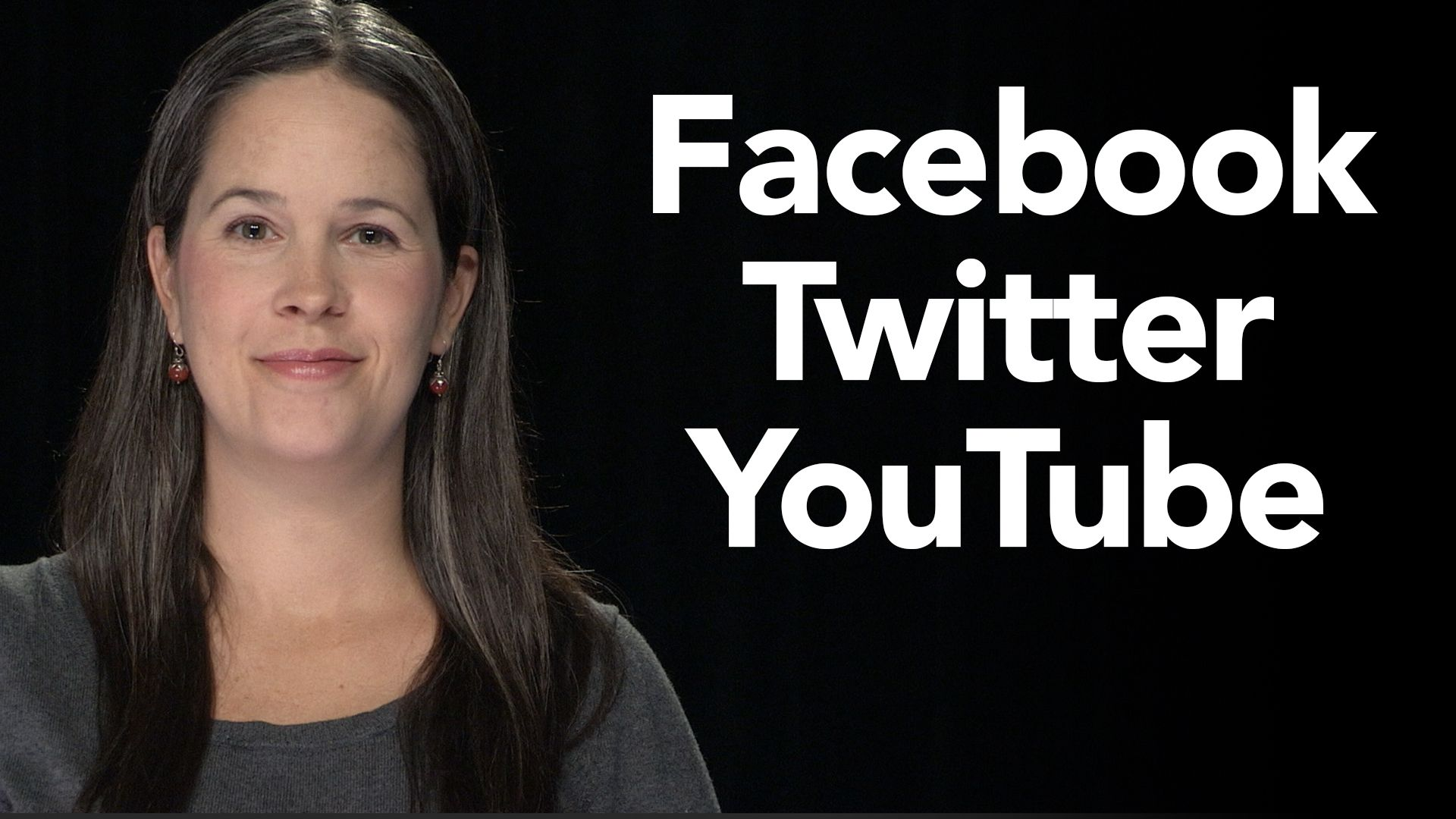 How to pronounce facebook twitter and youtube how to