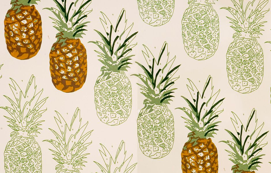 Summer Fruits The Power Of The Pineapple In Design