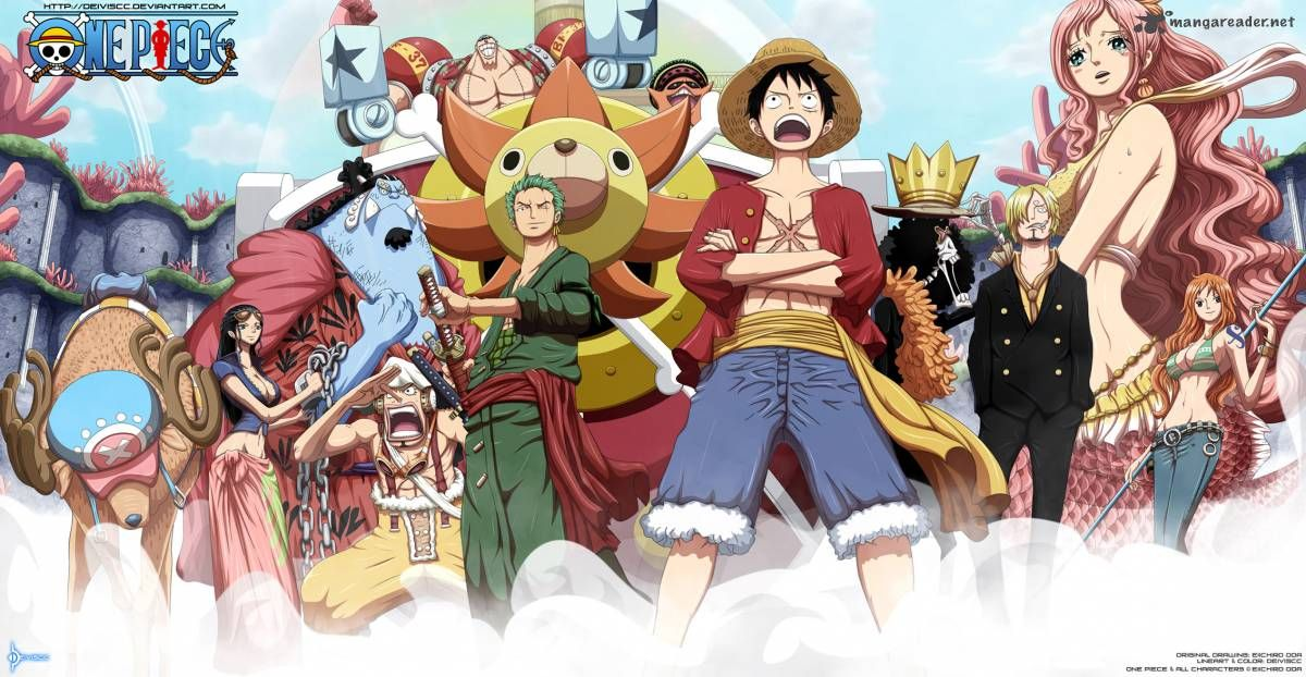 Thanks! apologise, one piece new straw hat crew regret, that