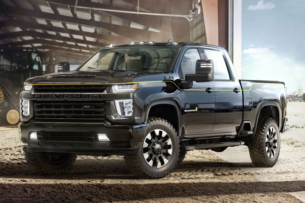 chevy unveils rugged new 2021 silverado hd carhartt