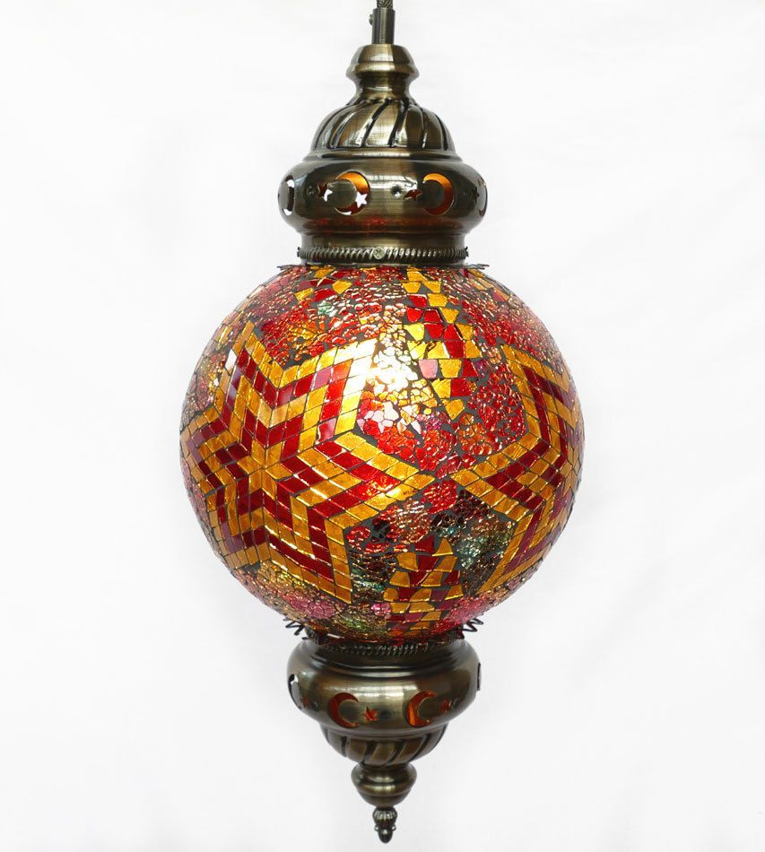 Hangelampe Lampe Orientalisch Craquele Mosaiklampe Orient 1001 Nacht Gm04 A Mosaik Lampen Hange Lampe Orientalisch