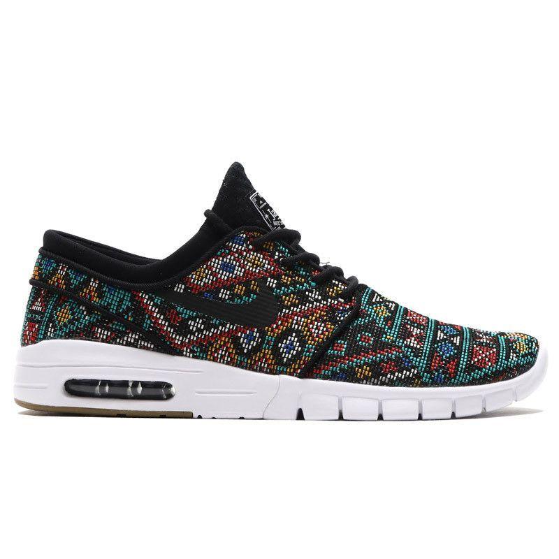 Nike Stefan Janoski Max Prm Black Black White Gum New Style Shoes Nike Stefan Janoski Nike Shoes Women