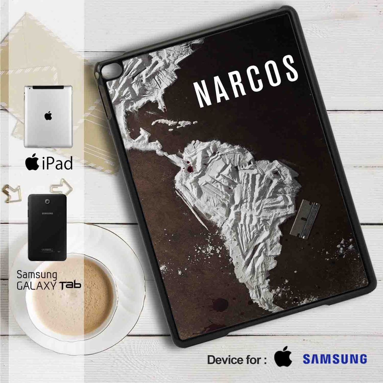 Narcos Movie Ipad 2 3 4 Mini 1 Air Samsung Flip Case Book Cover Galaxy Tab A 2017 8 Inch 80 Sm T385