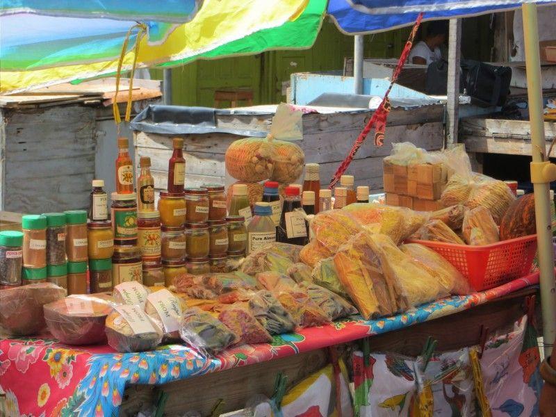Grenada spice market eb canvas photo gifts plan my