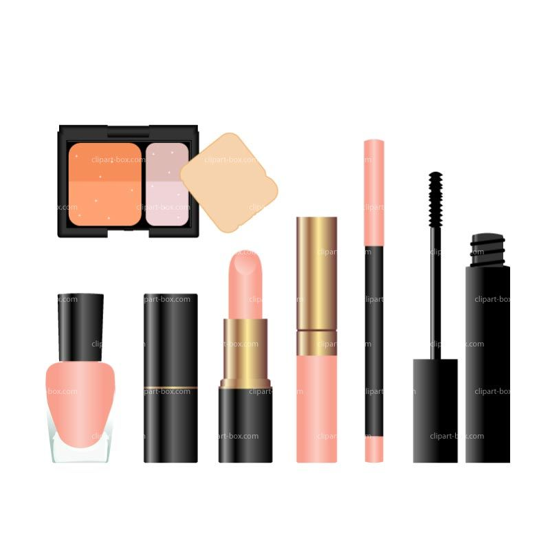 cosmetic kit clip art clipart cosmetic set royalty free vector rh pinterest ie