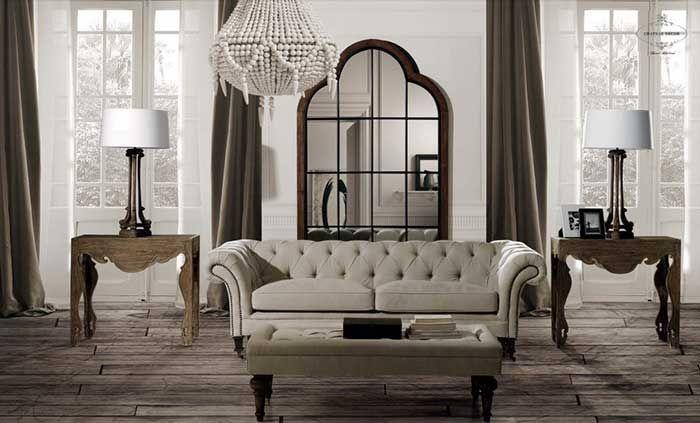 Decoraci n de salones con muebles cl sicos decoracion for Decoracion de salones clasicos