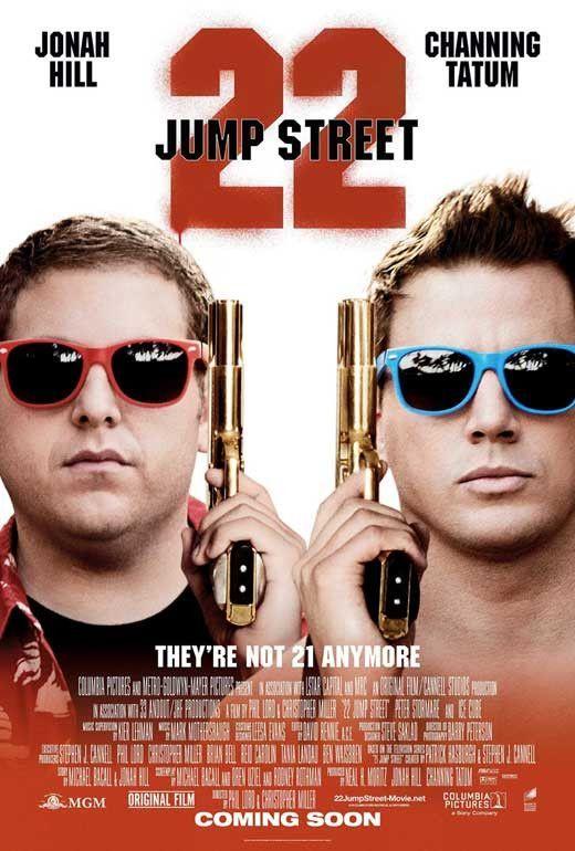 22 Jump Street 27x40 Movie Poster 2014 22 Jump Street Movies