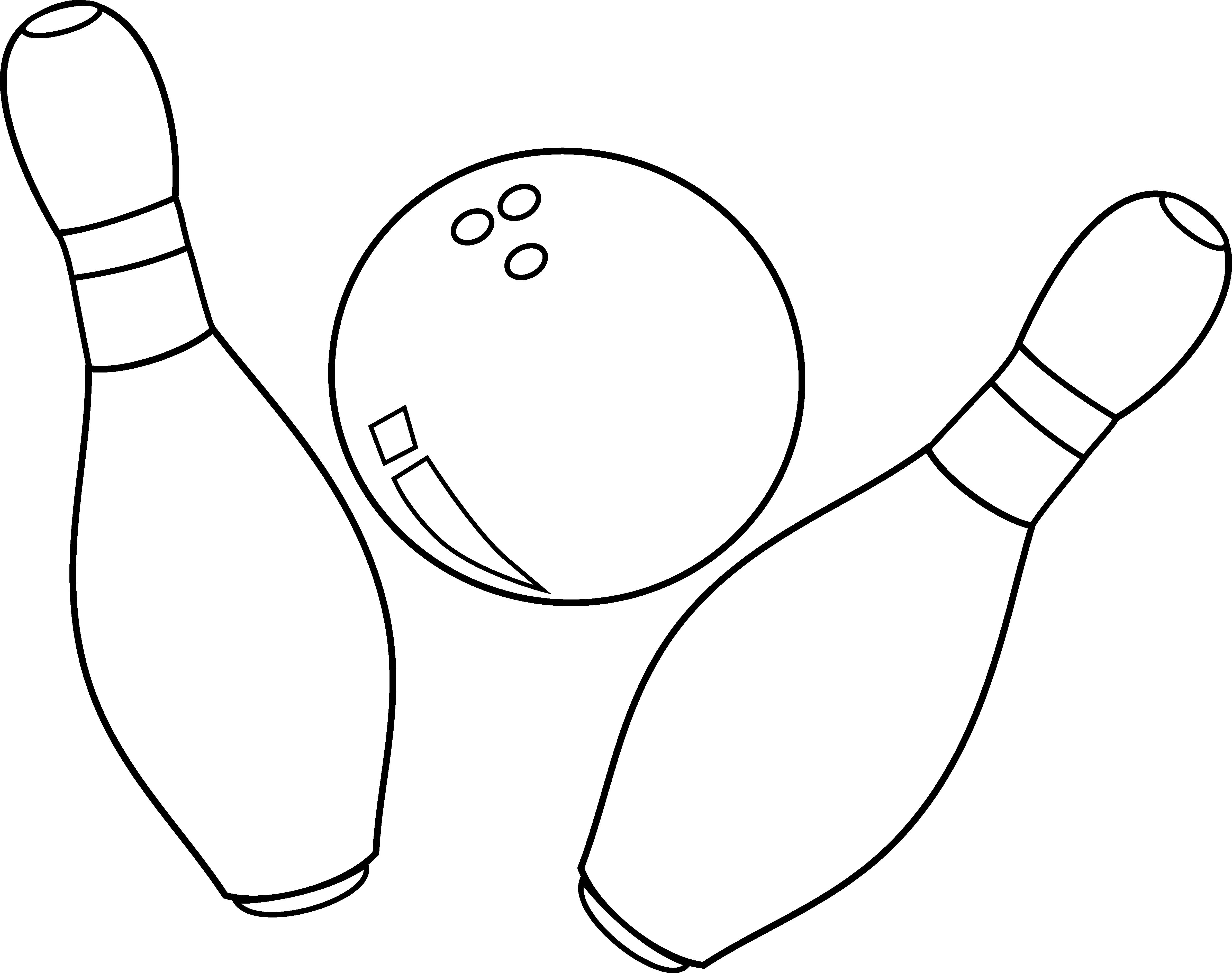 Page Not Found Clip Art Bowling Coloring Pages For Kids