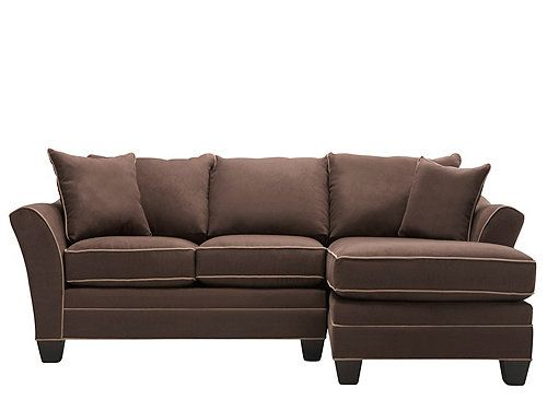 Foresthill 2 Pc Microfiber Sectional Sofa Home Design And