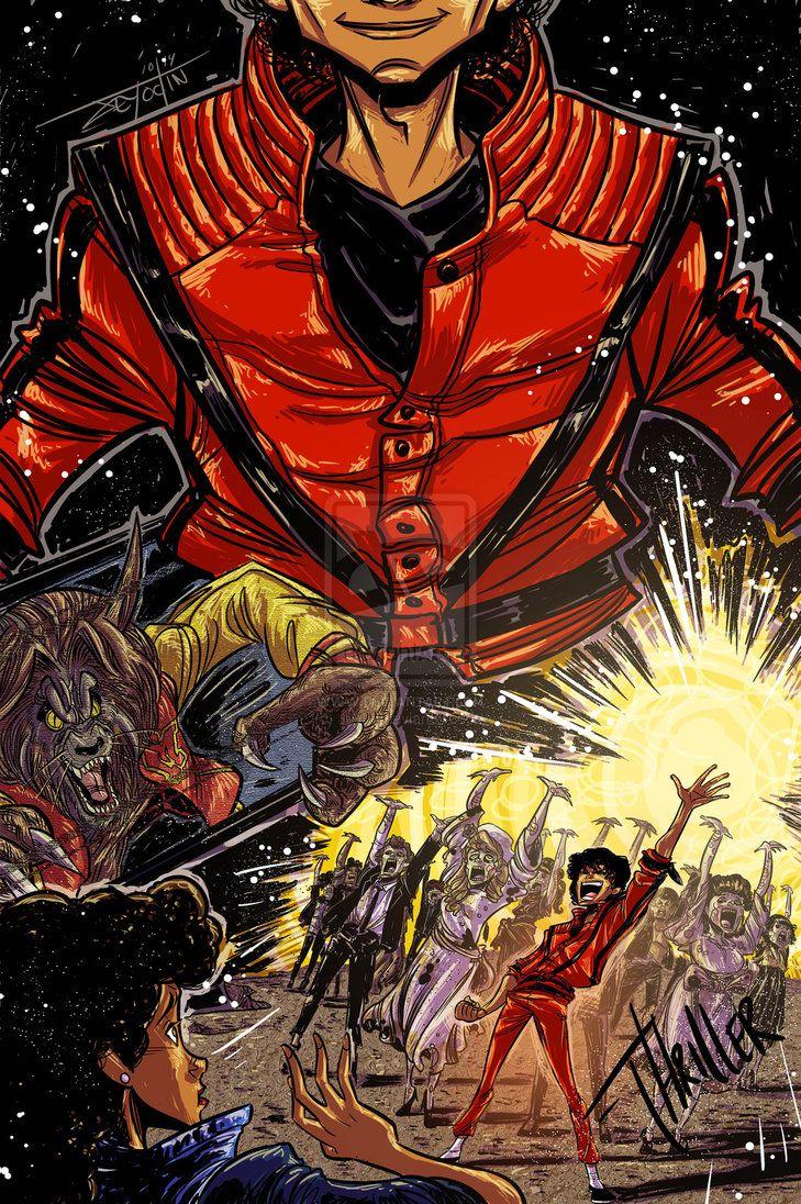 "Michael Jackson ""Thriller"" by Jey09 on deviantART"