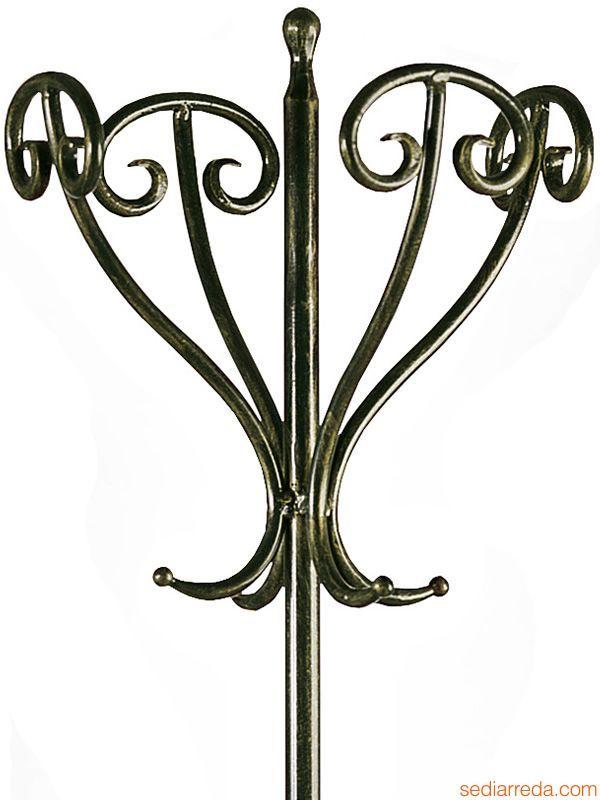 antique standing coat rack tour detail of the wroughtiron coat standu2026