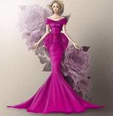 Image result for gowns with rendering