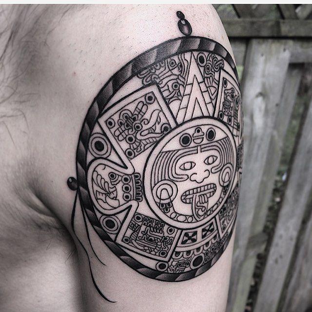 50 Diseños De Tatuajes Mayas Y Su Significado Tatuaje Tatuajes
