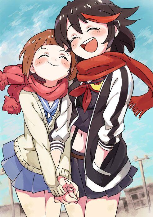 Ryuko And Mako Kill La Kill Kill A Kill Anime