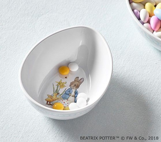 Beatrix Potter Easter Bowl Easter Tablecloth Easter