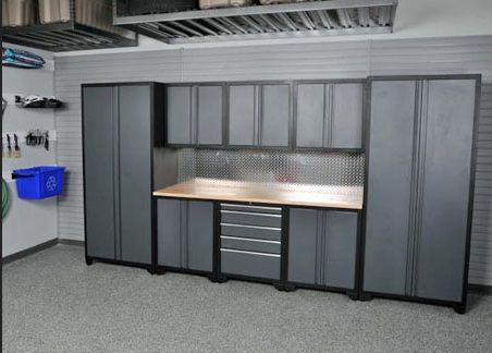Adjustable Shelves Metal Garage Storage Cabinets Home Interiors Garage Storage Cabinets Metal Storage Cabinets Lockable Storage Cabinet